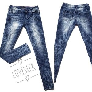 Womens | Junior Size 3, Love Sick Brand, Blue Wash